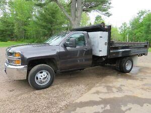 2015 Chevrolet Silverado K3500 Series 4x4 dump truck for sale!