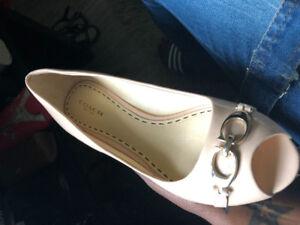 Chaussures Coach porter 3fois à vendre