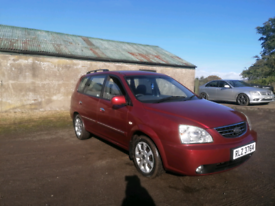 CHEAP KIA CARENS W/ MOT