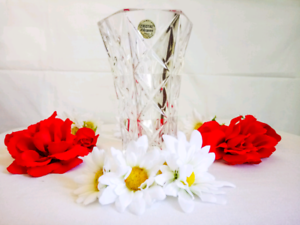 Crystal D'Arques Vase (17cm Height) From France 🇫🇷 Rosemeadow Campbelltown Area Preview