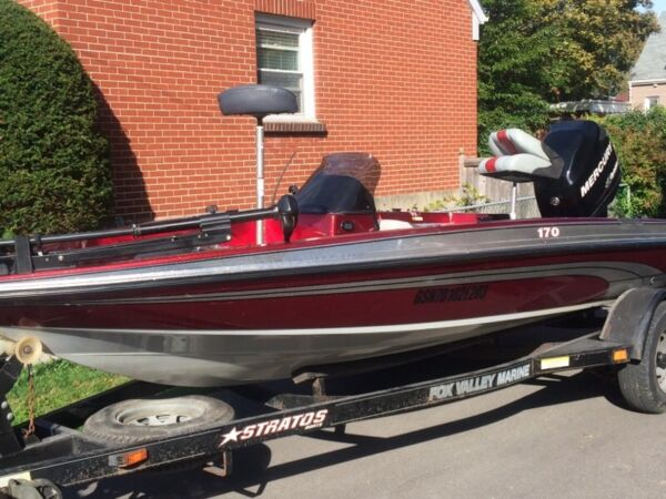 Used 2003 Stratos Boat Co 170