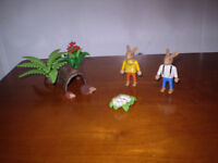 Playmobil Easter Bunnies with Hiding Place