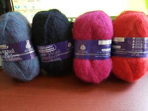 Balles de laine 100% vierge