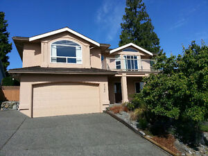 Beautiful ocean view house for rent in North Nanaimo