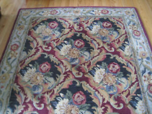 Area Rug - Wool Handcrafted - Made in India
