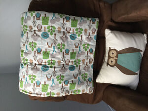 Baby bedding and decor