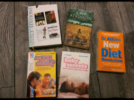 Mixed books 50p each