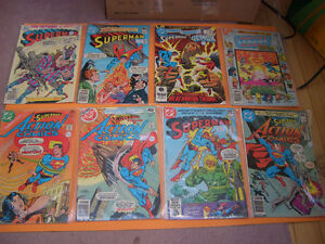 (28) SUPERMAN, GREEN ARROW, GREEN LANTERN, GREEN HORNET COMICS