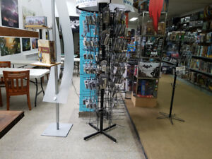 Large lot of Retail store furniture and fixtures
