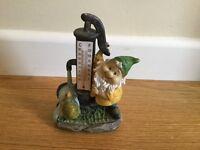 Garden thermometer gnome