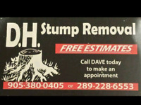 D.H. STUMP REMOVAL