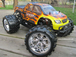 New RC Truck Brushless Electric 1/8 Scale TOP 2 LIPO 4WD RTR Kitchener / Waterloo Kitchener Area image 6