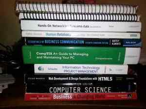 First year Web and Mobile textbooks $700 OBO