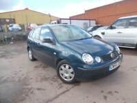 VW POLO TWIST 1.2 PETROL 5 DOOR HATCHBACK SPARES & REPAIRS