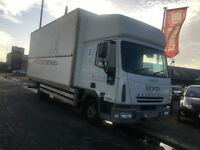 IVECO EUROCARGO 75E18 SLEEPER CAB BOX 1500K ALLOY TAIL LIFT RACE TRUCK? PX?