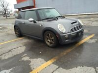 2005 Mini Cooper S automatic summer and winter tires