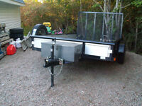 NEW FACTORY BUILT TRAILER .......HEAVY DUTY BUT LITE TO MOVE!...