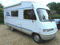 1995 Hymer B544 5-berth A Class motorhome SOLD, SIMILAR REQUIRED