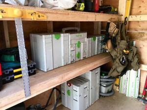 Festool/Tanos systainers for sale $30 off per box