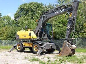 2010 Volvo EW180C Wheeled Excavator