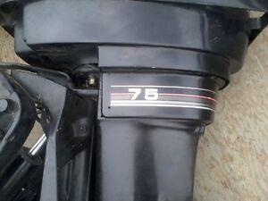 moteur  mercury 75hp