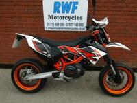 KTM 690 SMC R SUPERMOTO, 2016, 16 REG, ONLY 2 OWNERS & 2,785 MILES, MINT COND