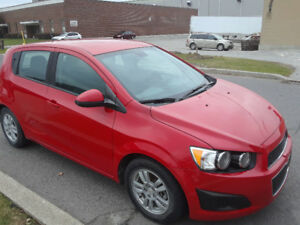 2012 Chevrolet Sonic Hatchback- only 85000 km