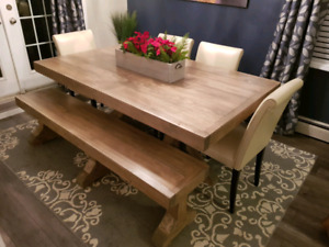 Custom made country Harvest tables