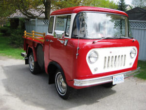 1957 JEEP WILLYS FC-150 4X4 CLASSIC COLLECTORS TRUCK