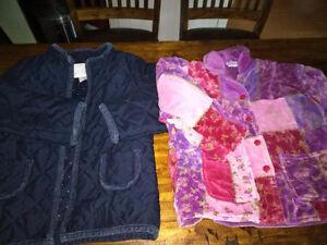 Girls size 6 fall jackets