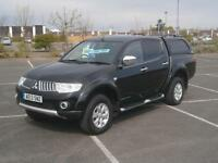 2013 MITSUBISHI L200 2.5 DI-D 4WD TROJAN DOUBLE CAB PICK UP TRUCK 4X4 IN BLACK