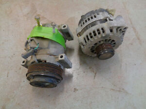 145 Amp alternator or airconditioning compressor