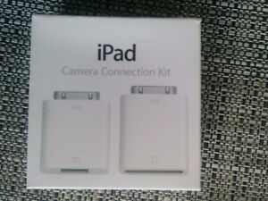 iPad camera connection kit  Brand new never used