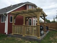 Start planning your shed or deck now!!!