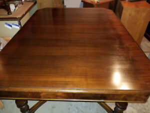 Dining table with 6 chairs for sale