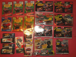 ▀▄▀▄▀▄▀ HO / TYCO / AFX SLOT CARS 55 CHEVY, NASCAR & RACE SET