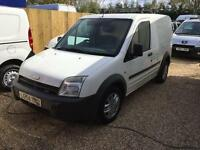 FORD TRANSIT CONNECT T200 L SWB 1.8cdti NO VAT, White, Manual, Diesel, 2004