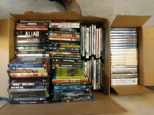 Best offer. Box of 120+ DVD's, Blu-Rays, and Series Box Sets.