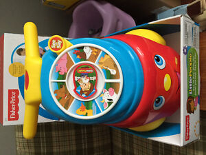 New! Fisher Price See N Say Ride on just reduced!