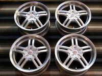 "Four Sacchi 15"" Universal Mag Wheels"