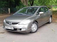 2007 Honda Civic 1.4 IMA Hybrid ( lth ) CVT ES GREY, 4 doors, CVT, Petrol