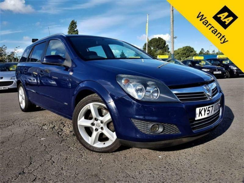 2007 VAUXHALL ASTRA 1.9 SRI CDTI!P/X WELCOME AUTO! BELT DONE 88K! 2 FORMR KEEPRS