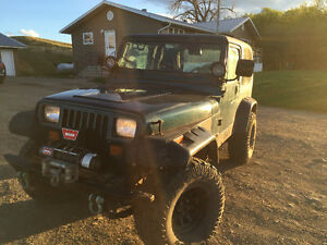 JEEP YJ 4.0 INLINE 6 ONLY 90000kms