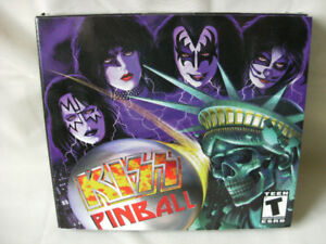 KISS Pinball - PC Game - NEW & FACTORY SEALED!