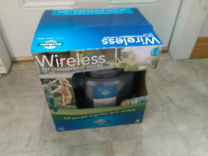 Wireless fence for pets
