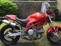 Ducati monster low miles clean bike