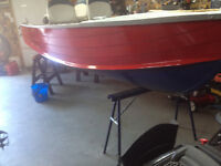 14 foot Starcraft boat and 9.9