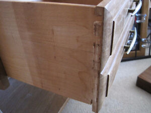 Bedside Table With Dovetail Drawer Kitchener / Waterloo Kitchener Area image 4