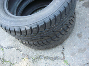 2 snow tires 195/60/R15, like new