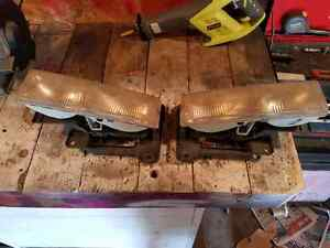 1990 body style chevy or gmc head lights with brackets